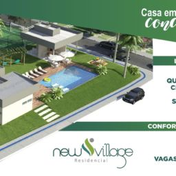 Arte área de lazer New Village